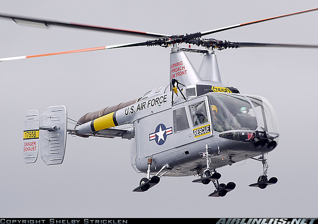 "Kaman H-43 ""Huskie"" helicopter - development history, photos ..."
